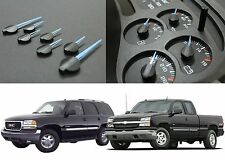 Replacement Blue Gauge Cluster Needles For 2003-2006 GM Trucks New Free Shipping