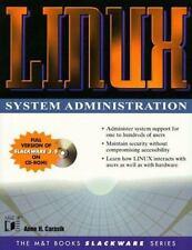The MandT Books Slackware: Linux System Administration by Anne Carasik (1998,...