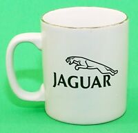 Staffordshire Kiln Craft England Cup Mug Jaguar Automobile Ceramic Logo 9 oz EUC