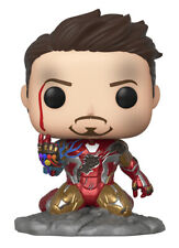 Funko Pop! Movies: Avengers: Endgame - Iron Man (I Am Iron Man) (Metallic) (Glows in the Dark) Vinyl Figure (Diamond Comics Exclusive)