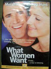 What Women Want (DVD, 2001, Widescreen) Helen Hunt Mel Gibson