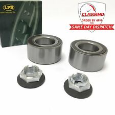 Front Wheel Bearing Kit Pair for FORD MONDEO MK 3 with ASB - 2000 to 2007