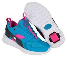Calzado de niña zapatillas deportivas azul de lona