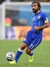 POSTER ANDREA PIRLO JUVENTUS FOOTBALL CALCIO MONDIALI BRASILE ITALIA 2014 FOTO 2