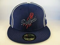 MLB Los Angeles Dodgers New Era 59FIFTY Fitted Hat Cap Blue