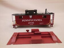 HO SCALE BRASS PENNSYLVANIA 477198 N-5 CABOOSE CAR BODY PAINTED