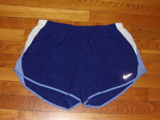 Nike Dri-Fit Purple Athletic Running Shorts With Liner Womens Large Excellent