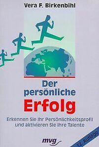 Der persönliche Erfolg von Vera F. Birkenbihl   Buch   Zustand gut