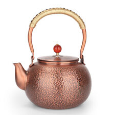 Hammered copper kettle antique thickened uncoated 1.5L