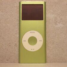 apple ipod nano 2g seconda generazione a1199 ma487 green verde 4gb ym702qpkvqh