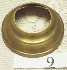 "Fenton - Wright NOS - TARNISHED BRASS 4"" TO 2""  1 1/8"" Tall BASE CONNECTOR GTC"