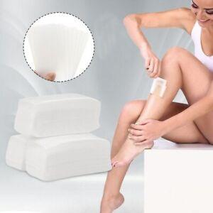100x Paper Wax Strips Waxing Leg Body Depilatory Non Woven Professional Quality