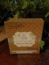 Simply be well 6-Pc. Sampler Moisturizing(plant based)Soap 2 oz ea Gift Box Set