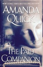 The Paid Companion by Amanda Quick, SIGNED , COA