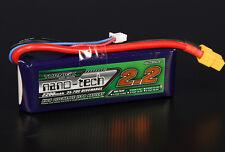 New Turnigy nano-tech 2200mAh 7.4v 2S 35C 70C Lipo Battery Pack XT60 XT-60 US