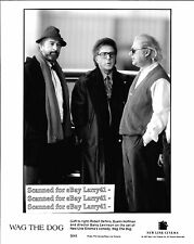 Lot of 4, Robert De Niro Dustin Hoffman stills WAG THE DOG (1997) Barry Levinson
