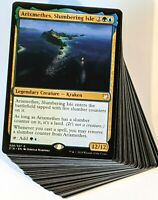 ***Custom Commander Deck*** Arixmethes - Sea Creatures - EDH MTG Magic Cards