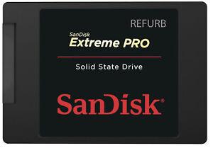 SanDisk Extreme PRO 240GB SSD SATA Solid State Drive (Refurbished) SDSSDXPS-240G