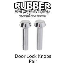 1965 1966 1967 Ford Car & Bronco Door Lock Knobs - pair