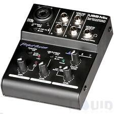 ART USBMix 3-Ch Audio Mixer - USB Mix Computer Interface / Sound Card FREE 2DAY!