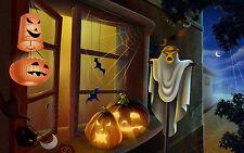 Halloween Decoration Ghosts Goblins Pumpkins Scary Walking Dead FRIDGE MAGNET #2