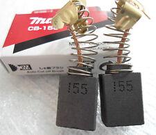 Carbon Brushes Pair Set Makita CB-155 181048-2 To Fit HR4500C HR5001C Original