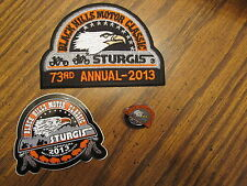 Harley Davidson Sturgis 73rd annual Black Hill Motor Classic Pin Patch Decal NEW
