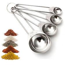 4 in 1 Set 1.25/2.5/5/15ml Stainless Steel Measuring Cups Spoons Baking Tool