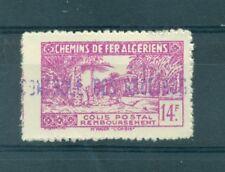 TRENI - TRAINS ALGERIA 1945 Pacchi Postali Railways Post Colis Postaux 14 F