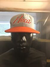 Miami Heat Mitchell & Ness Snapback Wool Cap NBA Hardwood Classics