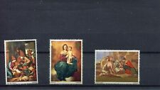 GB 1967 CHRISTMAS SG756-758 COMPLETE SET, LH MOUNTED MINT
