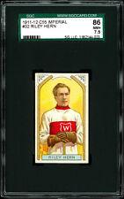 1911-12 C55 Imperial Tobacco #32 Riley Hern.  SGC 86 NM+  One of hobby's best!