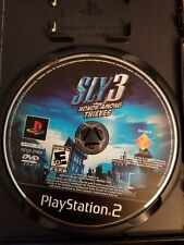 Sony PlayStation 2 PS2 Disc Only Sly 3 Honor Among Thieves Black Label