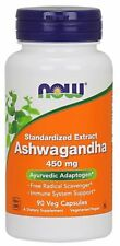 NOW FOODS, ASHWAGANDHA EXTRACT 450mg, 90 vegetarische Kaps. BESTPREIS !!!