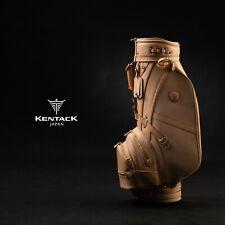 KENTACK JAPAN 2020ModelCaddy Bag genuine Leather l (HOMMA HIROO) Handmade Oneoff