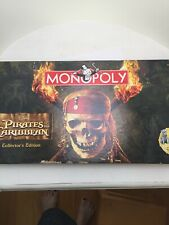 Pirates of the Caribbean Monopoly Collector's Edition - Inside Sealed (New,Open)
