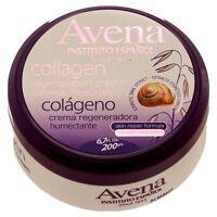 Avena Instituto Espanol Collagen Regeneration Cream Snail Extract Moisturizes