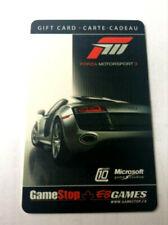 EB GAMES GAMESTOP MICROSOFT FORZA MOTORSPORT 3 RACING RECHARGEABLE !