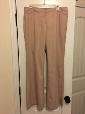 NEW The Limited Women's Pink White Checked Drew Fit Pants Slacks Trousers Sz 12