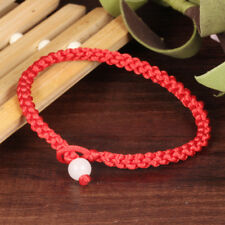 CIFBUY Simple Classic Lucky Chinese Braided Red String Rope Cord Bracelets Gift