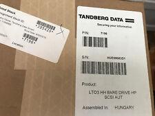 Tandberg 7196 pd003a #000 400/800gb lto-3 SCSI LVD Cinta Automatización