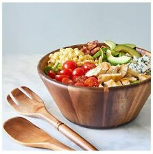 New listing Pampered Chef : Wood Salad Bowl & Servers Set, Free shipping