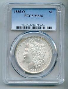 1885 O Morgan Silver Dollar PCGS MS 66