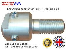 Diamond Core Drill Converting Adaptor for Hilti DD160 Drilling Rigs