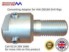 Diamond Core Drill Converting Adaptor for Hilti DD160 Drilling Rigs