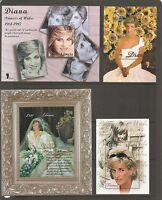 Liberia . Diana Princess Of Wales 1961-1997. Nine different Souvenir Sheets. MNH