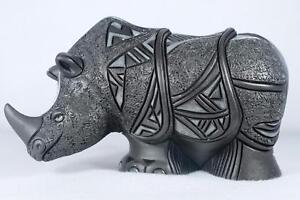 De Rosa - Nero Collection - Rhino Figurine