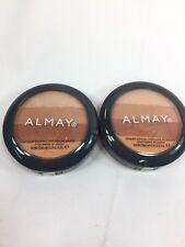 (2) Almay 40 Sunkissed  Smart Shade Powder Bronzer