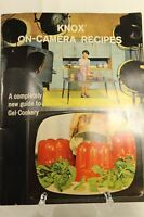 Knox on Camera Recipe Booklet 1960 Vintage collectable