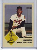 Hank Aaron '63 Milwaukee Braves rare Superior #500 extension series 🔥